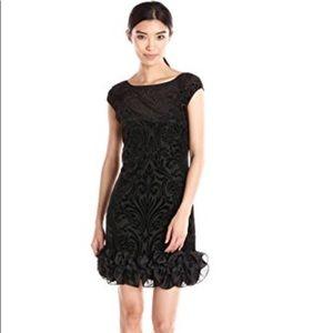 NWT Jessica Simpson velvet Burnout dress
